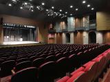 """""""A körmendi Batthyány-Strattmann kastély színháztermének rekonstrukciója"""" című projekt ünnepélyes átadója."""