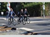 Kerékpárút és új vasúti átjáró beruházásának ünnepi átadó rendezvénye, Körmend